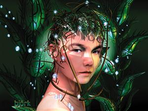 Bjork Screensaver