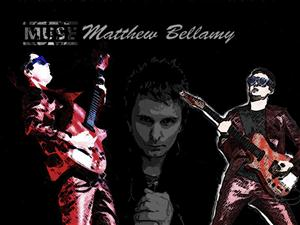 Free Matt Bellamy Screensaver Download