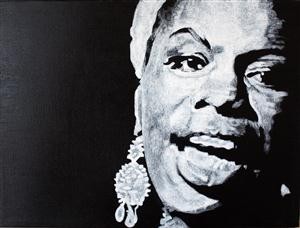 Nina Simone Screensaver Sample Picture 1