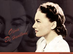 Free Olivia de Havilland Screensaver Download